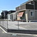境界フェンスと砕石でお庭つくり♪in明和町